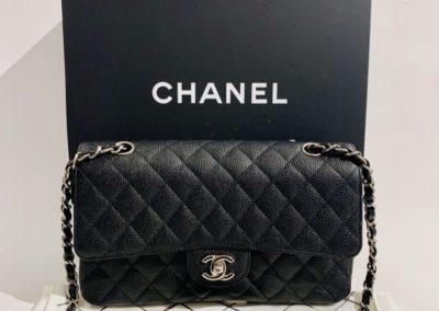 Chanel Classic Double Flap Bag Medium Caviar